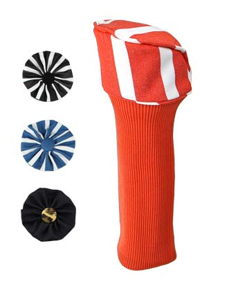 Hybrid golf club head cover