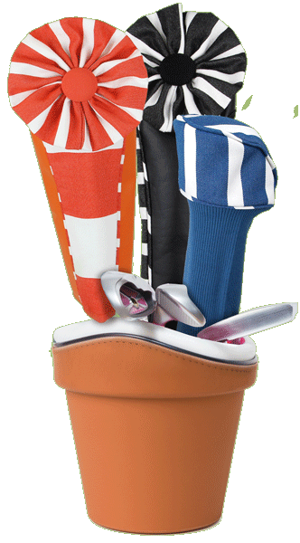 Women's golf headcovers